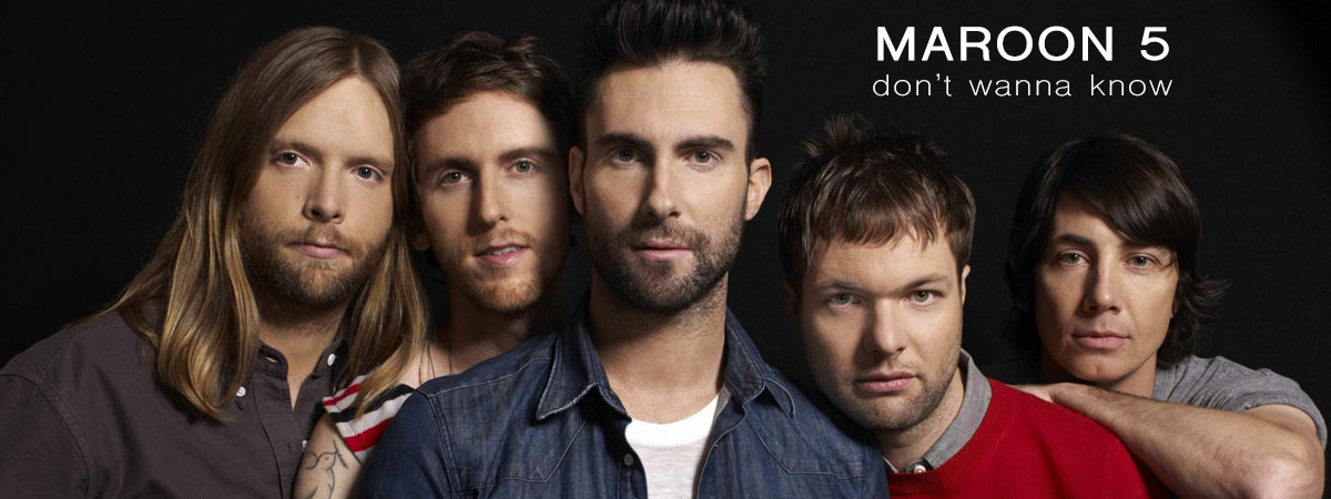 Maroon 5, Don't Wanna Know