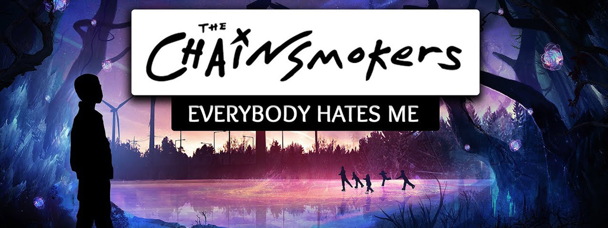 The Chainsmokers, Everybody Hates Me, Notes, Composition, Transpose