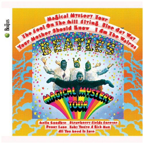 The Beatles, Magical Mystery Tour, Easy Guitar, sheet music, piano notes, chords, song, artist, awards, billboard, mtv, vh1, tour, single, album, release