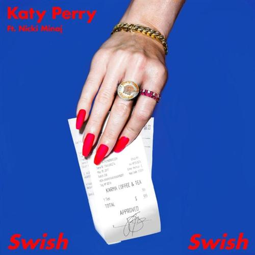 Katy Perry ft. Nicki Minaj, Swish Swish, Piano, Vocal & Guitar (Right-Hand Melody), sheet music, piano notes, chords, song, artist, awards, billboard, mtv, vh1, tour, single, album, release