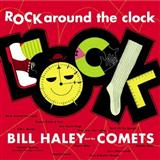 Download or print Bill Haley & His Comets Rock Around The Clock Sheet Music Printable PDF -page score for Rock N Roll / arranged Piano, Vocal & Guitar (Right-Hand Melody) SKU: 104300.
