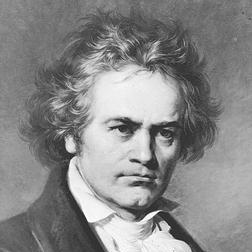 Download or print Ludwig van Beethoven Allegretto from Symphony No. 7 in A major (Second Movement) Sheet Music Printable PDF -page score for Classical / arranged Piano SKU: 108807.