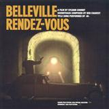 Download or print Benoit-Philippe Charest Belleville Rendez-Vous (from 'Belleville Rendez-vous') Sheet Music Printable PDF -page score for Film and TV / arranged Piano, Vocal & Guitar (Right-Hand Melody) SKU: 109332.