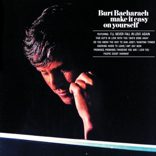 Burt Bacharach, I'll Never Fall In Love Again, Keyboard, sheet music, piano notes, chords, song, artist, awards, billboard, mtv, vh1, tour, single, album, release