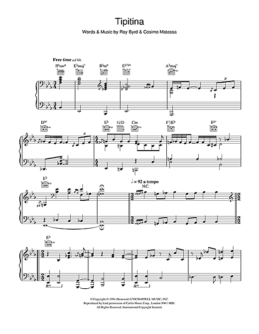 Hugh Laurie Tipitina sheet music notes and chords. Download Printable PDF.