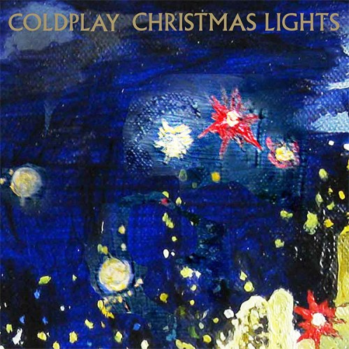 Download or print Coldplay Christmas Lights Sheet Music Printable PDF -page score for Christmas / arranged Lyrics & Piano Chords SKU: 110496.