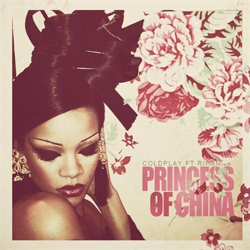 Coldplay, Princess Of China (feat. Rihanna), Guitar Tab, sheet music, piano notes, chords, song, artist, awards, billboard, mtv, vh1, tour, single, album, release