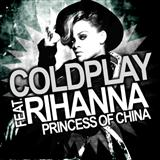 Download or print Coldplay Princess Of China (feat. Rihanna) Sheet Music Printable PDF -page score for Rock / arranged Piano, Vocal & Guitar (Right-Hand Melody) SKU: 112027.