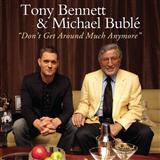 Download or print Tony Bennett & Michael Buble Don't Get Around Much Anymore Sheet Music Printable PDF -page score for Jazz / arranged Piano, Vocal & Guitar (Right-Hand Melody) SKU: 112145.