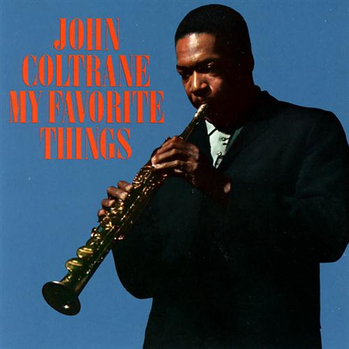 John Coltrane, My Favorite Things (from The Sound Of Music), Drums, sheet music, piano notes, chords, song, artist, awards, billboard, mtv, vh1, tour, single, album, release