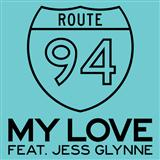 Download or print Route 94 My Love (feat. Jess Glynne) Sheet Music Printable PDF -page score for Dance / arranged Piano, Vocal & Guitar (Right-Hand Melody) SKU: 118136.