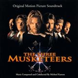 Download or print Michael Kamen The Three Musketeers (D'Artagnan (Galliard & Air)) Sheet Music Printable PDF -page score for Film and TV / arranged Piano SKU: 120794.