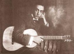 Download or print Miguel Llobet Scherzo-Vals Sheet Music Printable PDF -page score for Classical / arranged Guitar SKU: 121411.