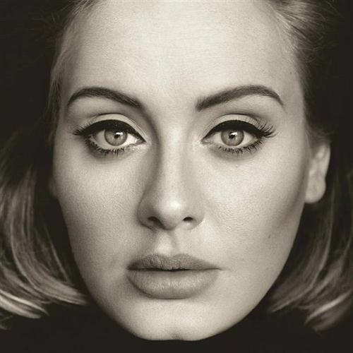 Adele, Hello, Piano, Vocal & Guitar (Right-Hand Melody), sheet music, piano notes, chords, song, artist, awards, billboard, mtv, vh1, tour, single, album, release