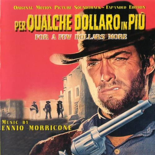 Ennio Morricone, Watch Chimes (from 'A Few Dollars More'), Piano, sheet music, piano notes, chords, song, artist, awards, billboard, mtv, vh1, tour, single, album, release