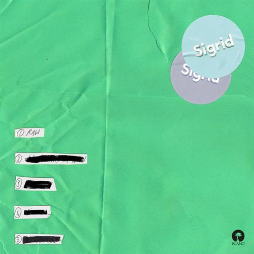 Sigrid, Raw, Piano, Vocal & Guitar (Right-Hand Melody), sheet music, piano notes, chords, song, artist, awards, billboard, mtv, vh1, tour, single, album, release