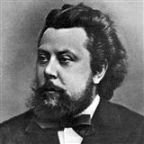 Download or print Modest Mussorgsky Promenade (from Pictures At An Exhibition) Sheet Music Printable PDF -page score for Classical / arranged Melody Line & Chords SKU: 14121.