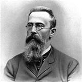 Download or print Nikolai Rimsky-Korsakov Theme from Scheherazade Sheet Music Printable PDF -page score for Classical / arranged Melody Line & Chords SKU: 14159.