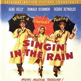 Download or print Arthur Freed Singin' In The Rain Sheet Music Printable PDF -page score for Broadway / arranged Piano SKU: 150785.