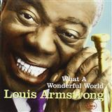 Download or print Louis Armstrong What A Wonderful World Sheet Music Printable PDF -page score for American / arranged Piano SKU: 151320.