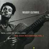 Download or print Woody Guthrie This Land Is Your Land Sheet Music Printable PDF -page score for Folk / arranged Lyrics & Chords SKU: 153190.