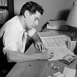 Download or print Leonard Bernstein Take Care Of This House Sheet Music Printable PDF -page score for Broadway / arranged Piano SKU: 156219.