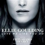 Download or print Ellie Goulding Love Me Like You Do Sheet Music Printable PDF -page score for Pop / arranged Piano SKU: 161083.