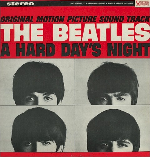 Download or print The Beatles A Hard Day's Night Sheet Music Printable PDF -page score for Rock / arranged Easy Guitar SKU: 161764.