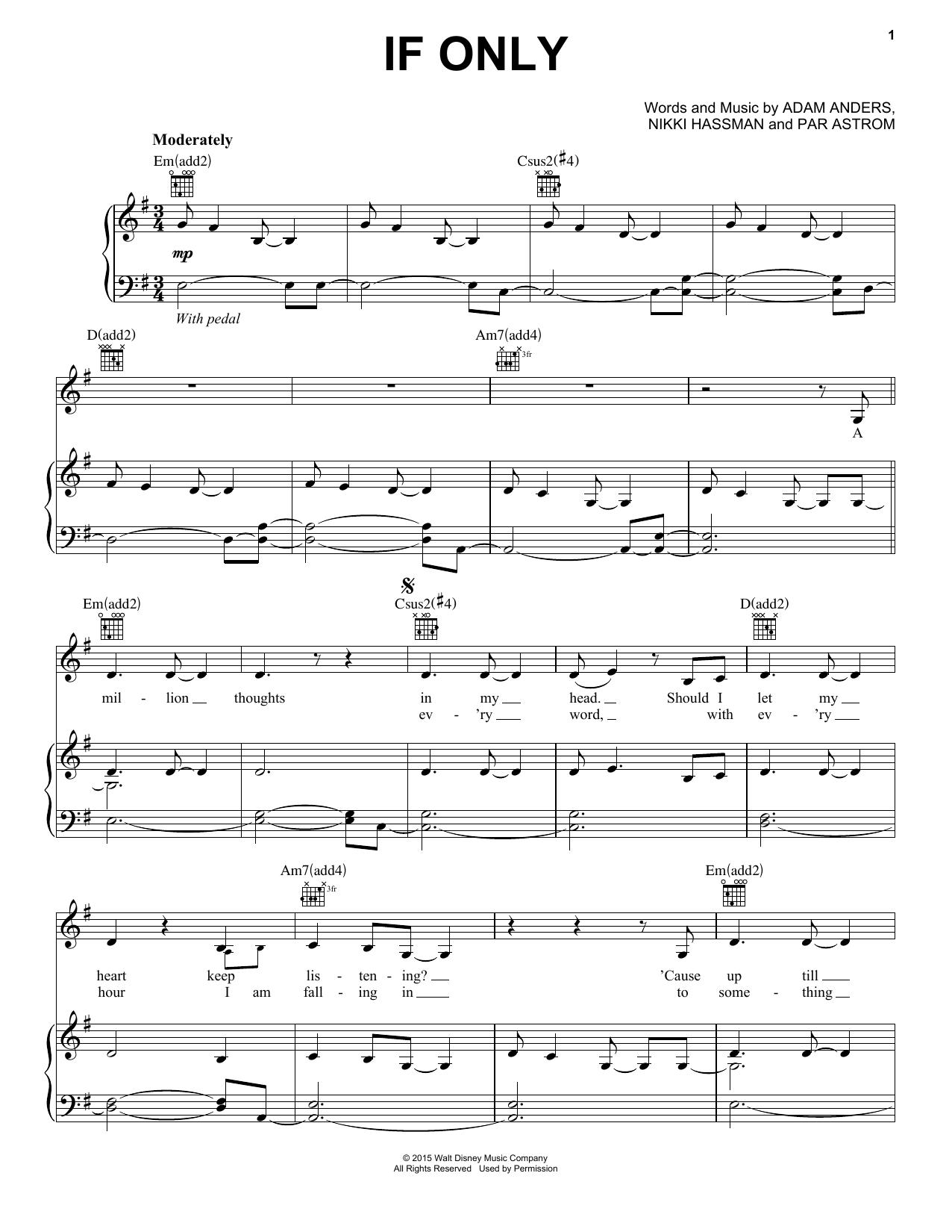 Dove cameron if only sheet music notes chords piano vocal dove cameron if only sheet music notes chords piano vocal guitar right hand melody download children 162596 pdf baditri Choice Image