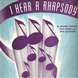 Download or print Dick Gasparre I Hear A Rhapsody Sheet Music Printable PDF -page score for Jazz / arranged Piano SKU: 163985.