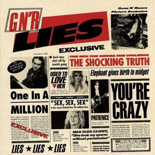 Guns N' Roses, Patience, Guitar Lead Sheet, sheet music, piano notes, chords, song, artist, awards, billboard, mtv, vh1, tour, single, album, release