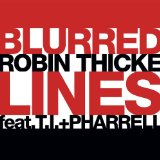 Download or print Robin Thicke Blurred Lines Sheet Music Printable PDF -page score for Rock / arranged GTRENS SKU: 165628.