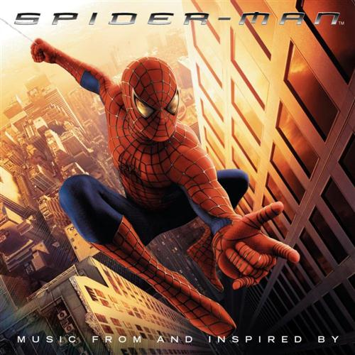 Bob Harris & Paul Francis Webster, Theme From Spider Man, Guitar Ensemble, sheet music, piano notes, chords, song, artist, awards, billboard, mtv, vh1, tour, single, album, release