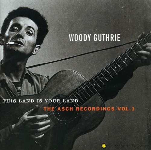 Woody Guthrie, This Land Is Your Land, Tenor Saxophone, sheet music, piano notes, chords, song, artist, awards, billboard, mtv, vh1, tour, single, album, release
