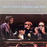 Download or print Dionne & Friends That's What Friends Are For Sheet Music Printable PDF -page score for Rock / arranged Piano SKU: 170193.