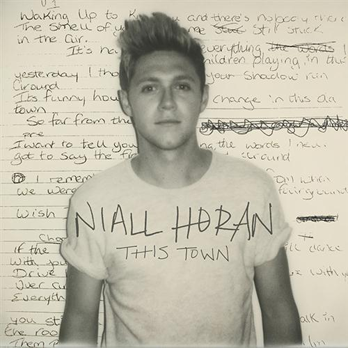 Niall Horan, This Town, Piano, Vocal & Guitar (Right-Hand Melody), sheet music, piano notes, chords, song, artist, awards, billboard, mtv, vh1, tour, single, album, release