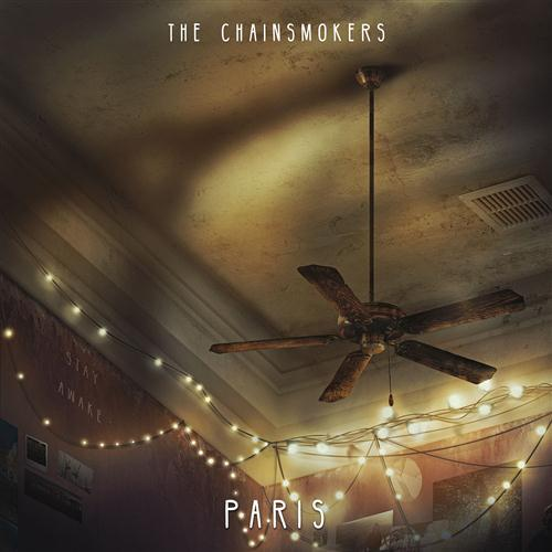 The Chainsmokers, Paris, Piano, Vocal & Guitar (Right-Hand Melody), sheet music, piano notes, chords, song, artist, awards, billboard, mtv, vh1, tour, single, album, release