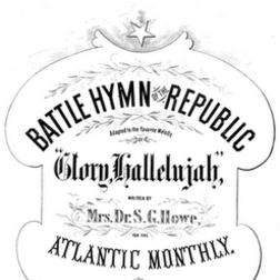 Download or print William Steffe Battle Hymn Of The Republic Sheet Music Printable PDF -page score for Hymn / arranged Melody Line, Lyrics & Chords SKU: 180177.