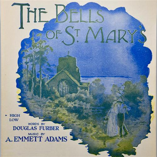 A. Emmett Adams, The Bells Of St. Mary's, Melody Line, Lyrics & Chords, sheet music, piano notes, chords, song, artist, awards, billboard, mtv, vh1, tour, single, album, release