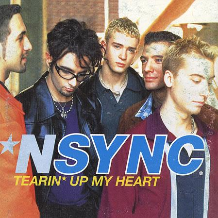 'N Sync, Tearin' Up My Heart, Piano, Vocal & Guitar (Right-Hand Melody), sheet music, piano notes, chords, song, artist, awards, billboard, mtv, vh1, tour, single, album, release