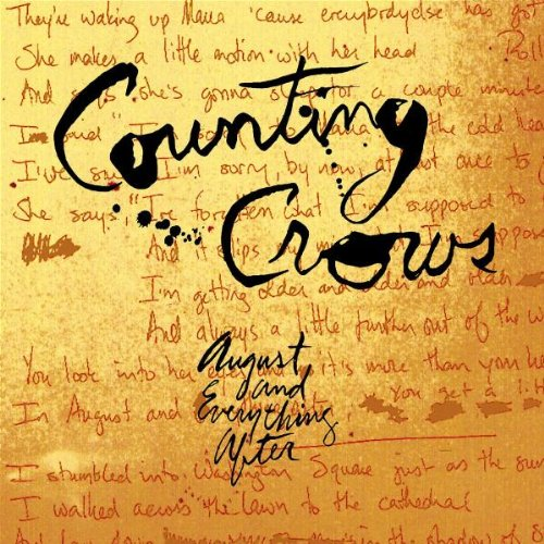 Easily Download Counting Crows Printable PDF piano music notes, guitar tabs for  Piano, Vocal & Guitar (Right-Hand Melody). Transpose or transcribe this score in no time - Learn how to play song progression.