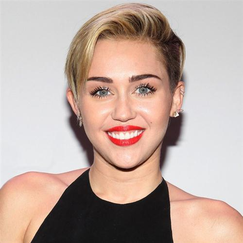 Miley Cyrus, Let's Dance, Voice, sheet music, piano notes, chords, song, artist, awards, billboard, mtv, vh1, tour, single, album, release