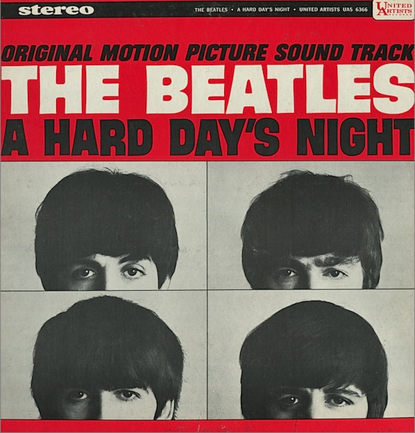 The Beatles, A Hard Day's Night, Voice, sheet music, piano notes, chords, song, artist, awards, billboard, mtv, vh1, tour, single, album, release