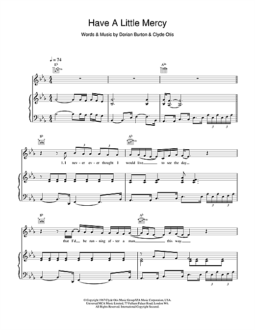 Ann Sexton Have A Little Mercy sheet music notes and chords. Download Printable PDF.