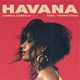Download or print Camila Cabello Havana (feat. Young Thug) Sheet Music Printable PDF -page score for Pop / arranged Piano, Vocal & Guitar (Right-Hand Melody) SKU: 187744.