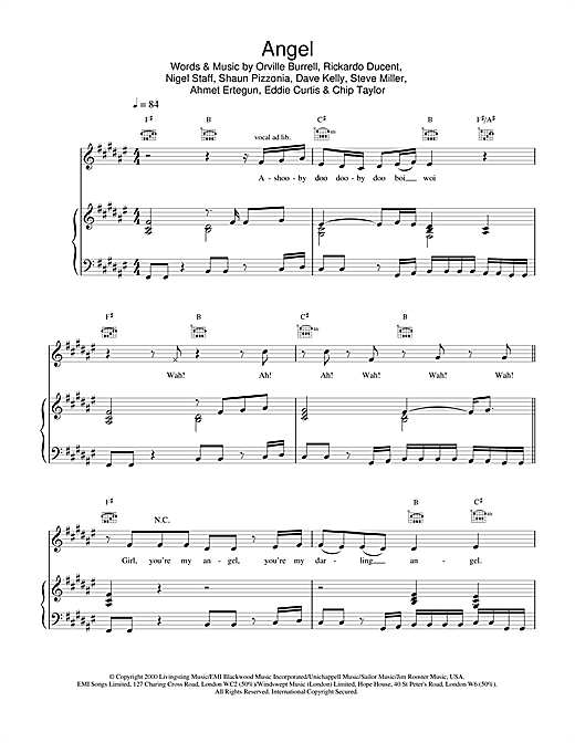 Shaggy Angel sheet music notes and chords. Download Printable PDF.