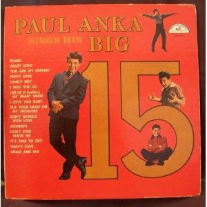 Paul Anka, Puppy Love, Tenor Saxophone, sheet music, piano notes, chords, song, artist, awards, billboard, mtv, vh1, tour, single, album, release