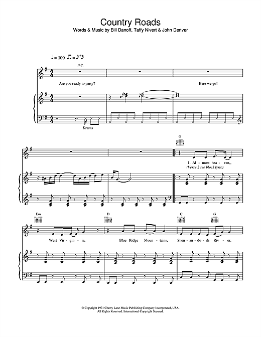 Hermes House Band Country Road sheet music notes and chords. Download Printable PDF.