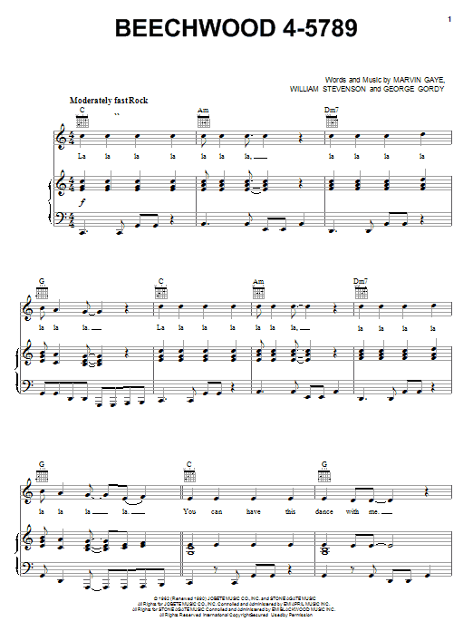 Carpenters Beechwood 4-5789 sheet music notes and chords. Download Printable PDF.