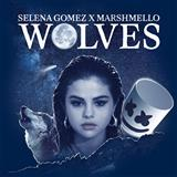 Download or print Selena Gomez & Marshmello Wolves Sheet Music Printable PDF -page score for Pop / arranged Piano, Vocal & Guitar (Right-Hand Melody) SKU: 194361.